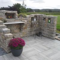 Wellnessgarten in Rulle   Outdoor - Küche
