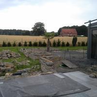 Wellnessgarten Rulle im Bau
